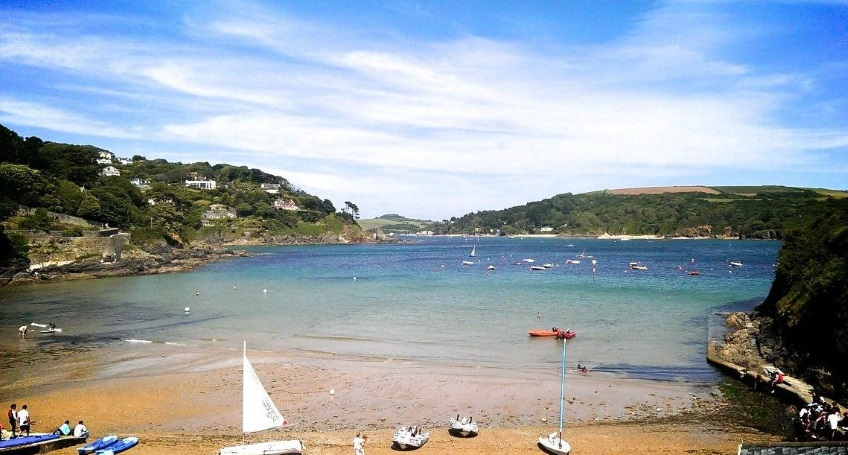 south sands, Salcombe 2