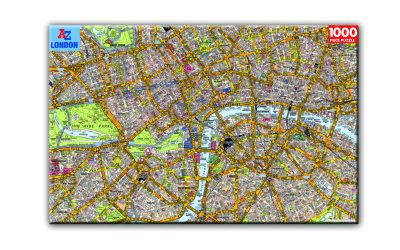 Londontopia Store Alert: New Products LIVE – London Tube Map and AtoZ Map 1,000 Piece Puzzles!