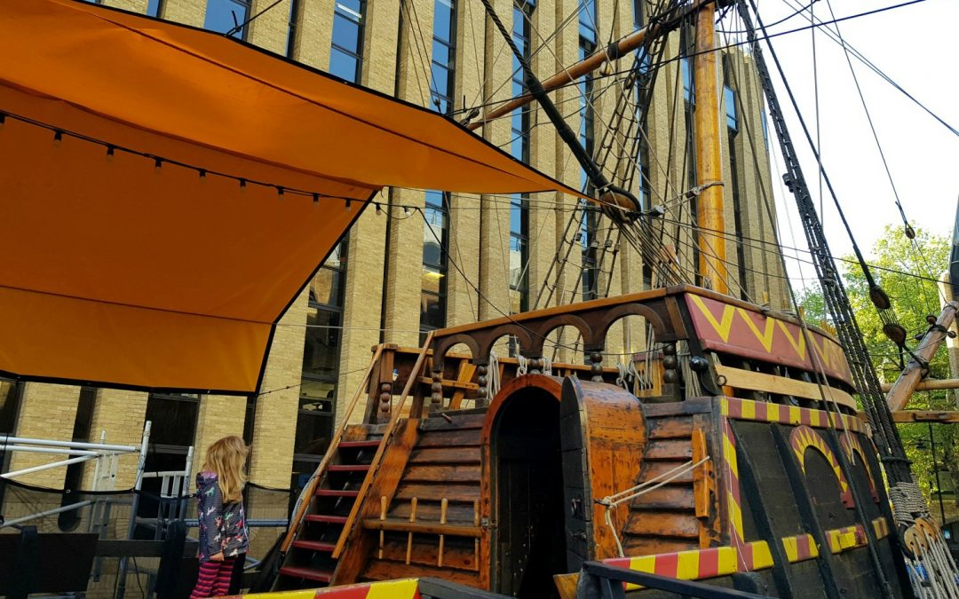 The Golden Hinde sleepover in London: Night Voyage