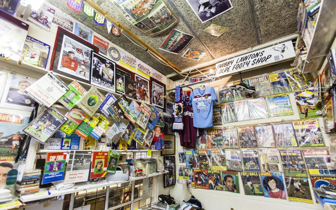3 places to buy retro football memorabilia in London