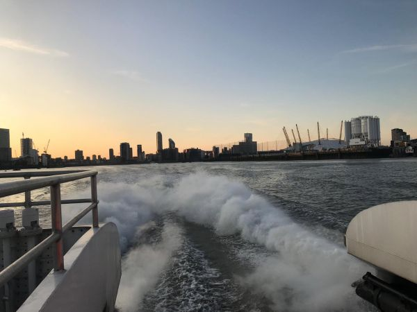 The Thames Clipper – A new perspective