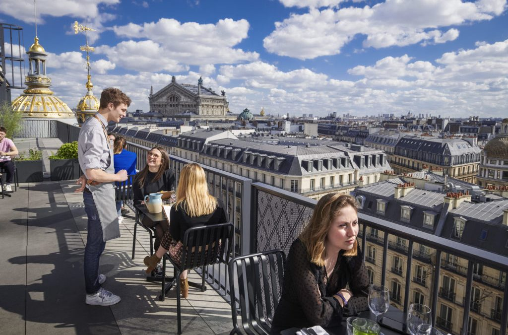 The Best Rooftops in Paris to Cool Off This Summer