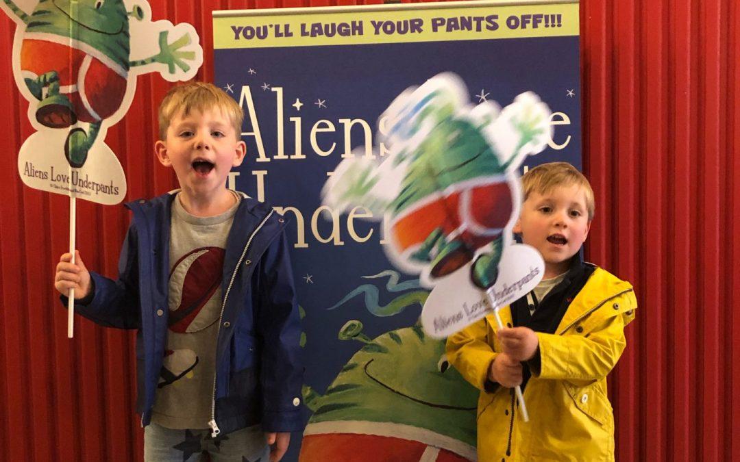Review | Aliens love Underpants at The Troubadour Theatre White City London