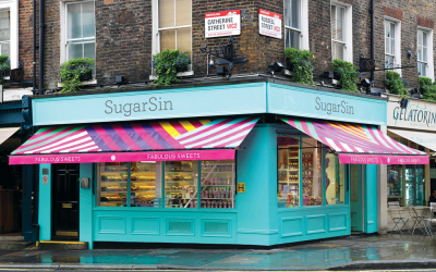 The London Fiver – Five of the Best Sweet Shops To Visit On Your Next Trip (Don't Tell Your Dentist!)