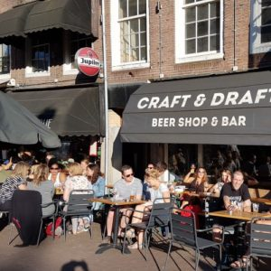 outdoor bar in amsterdam