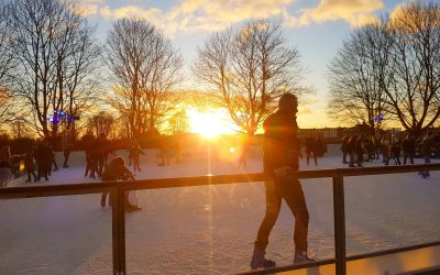 Best places to ice skate in London with kids
