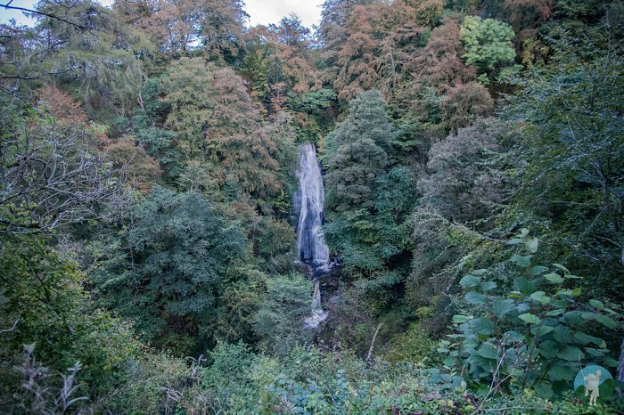falls of acharn scotland in october