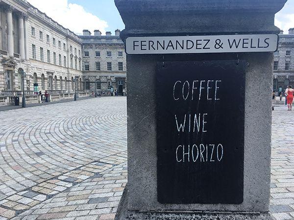 Fernandez & Wells – Coffee wine chorizo