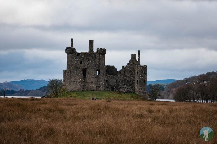 kilchurn castle loch awe autumn