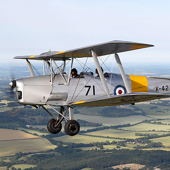 Tiger Moth Lessons North Weald