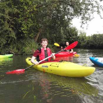Kayaking in Warwickshire