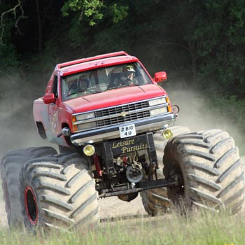 Big Grizzly Monster Truck Drive