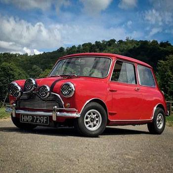 1968 Classic Mini Cooper Drive