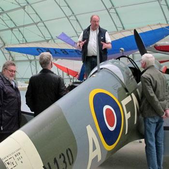 Mk26 Spitfire Hangar Tour Oxfordshire