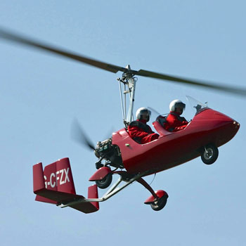 Gyrocopter Flights & Lessons Manchester