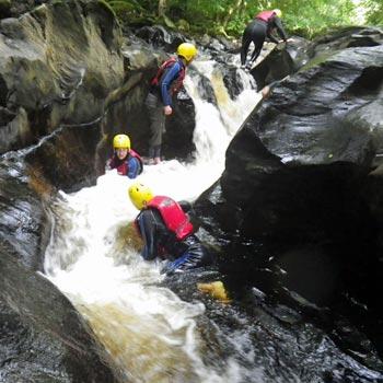 Canyon Scrambling in Scotland