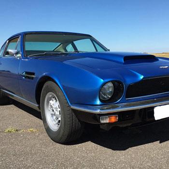 Classic Aston Martin Vantage Drive