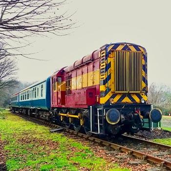 Train Cab Ride in Kent