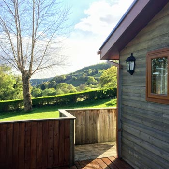 Log Cabin Break for Two Swansea