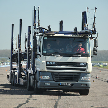HGV Truck Driving Thrill