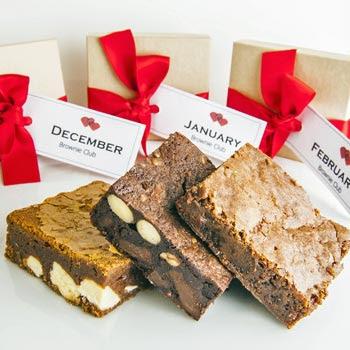 Luxury Chocolate Brownie Subscription