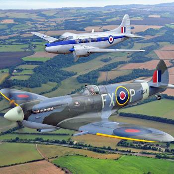 Dambusters Spitfire Tour