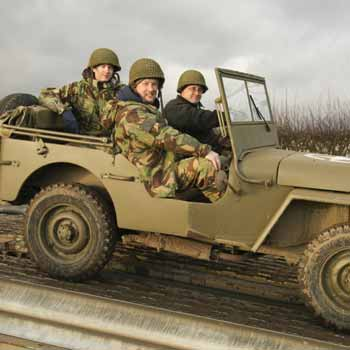 Military Driving Leicestershire