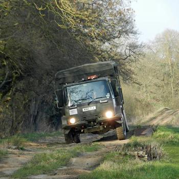 Ex-Army DAF Truck Driving Milton Keynes