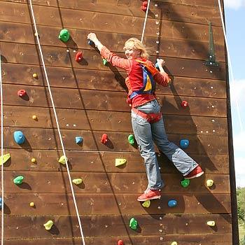 Group Climbing Wall Warwickshire