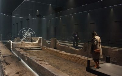 The Temple of Mithras: London's New Roman Museum in the New Bloomberg London HQ
