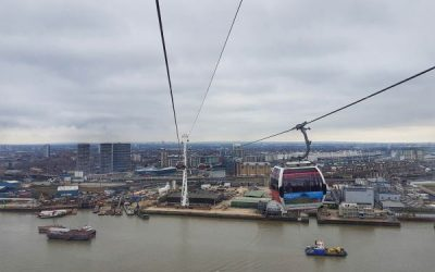 Emirates Air Line – Panoramic views of the East End