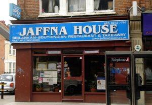 Jaffna House – Sri Lankan curry