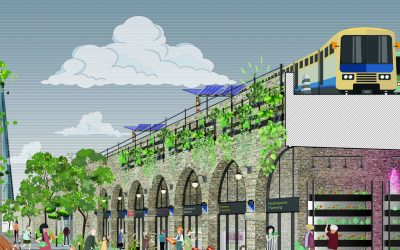 London's Low Line is set to be transformed with a green makeover
