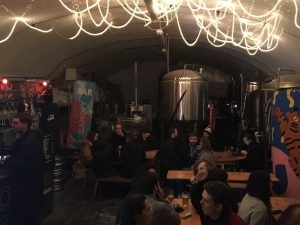 Canopy Brewery – Beer under the railway tracks