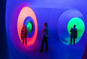 Colourscape's labyrinth of psychedelic rainbow tunnels is coming back to London