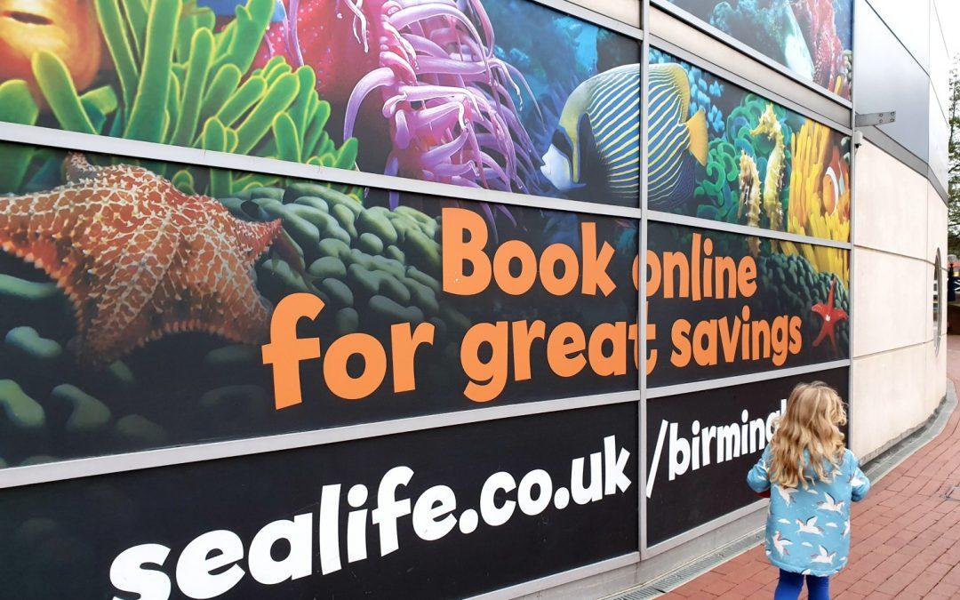 National Sealife Centre Birmingham review