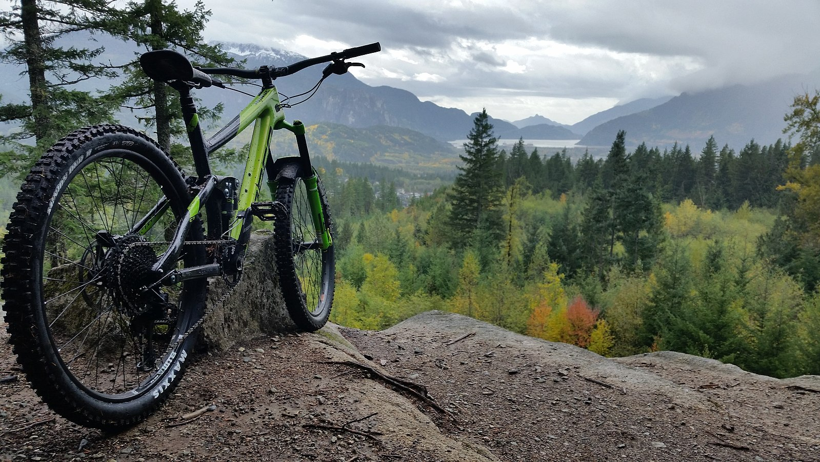 glencoe mountain biking