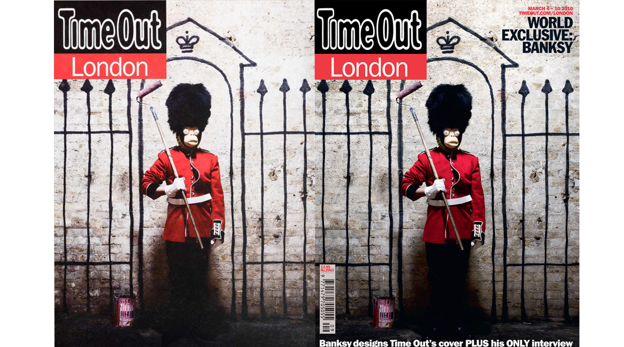 Banksy Time Out cover