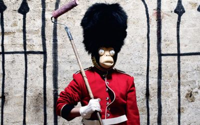 This Banksy is on sale for around £100, and it might look a little familiar