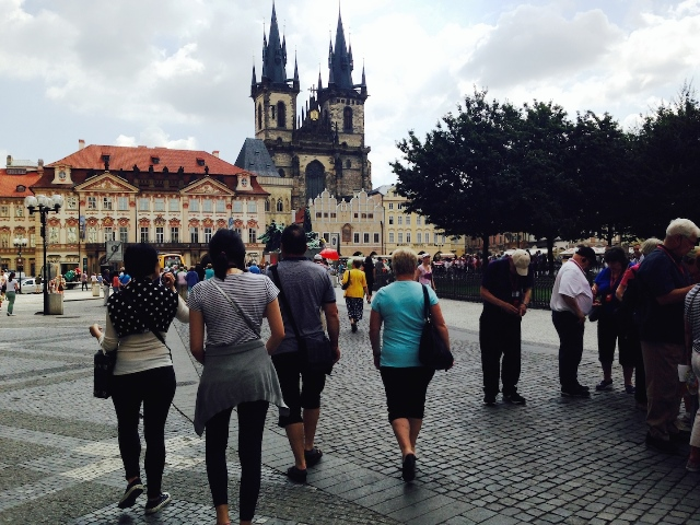 Old Town Square is a tourist haven (for good reason)