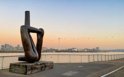 London's first public art walk The Line goes online