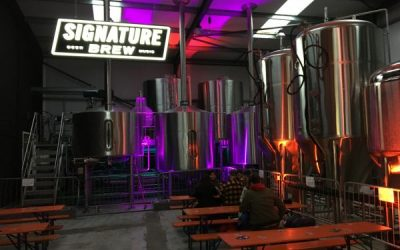 Signature Brew – Beers amongst the giant barrels