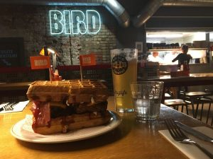 Bird – Fried chicken and waffles