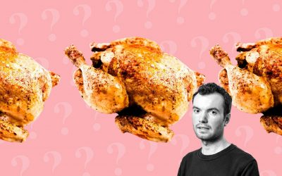 Meat, Reviewed: a lifelong vegetarian tries roast chicken for the first time