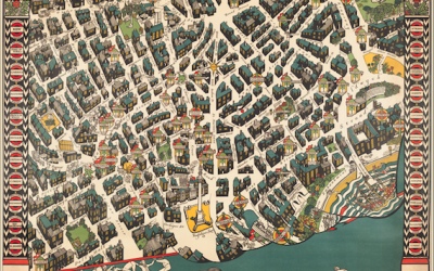 A London Mapping Wonder: A Guide to the London Theatreland Map of 1915
