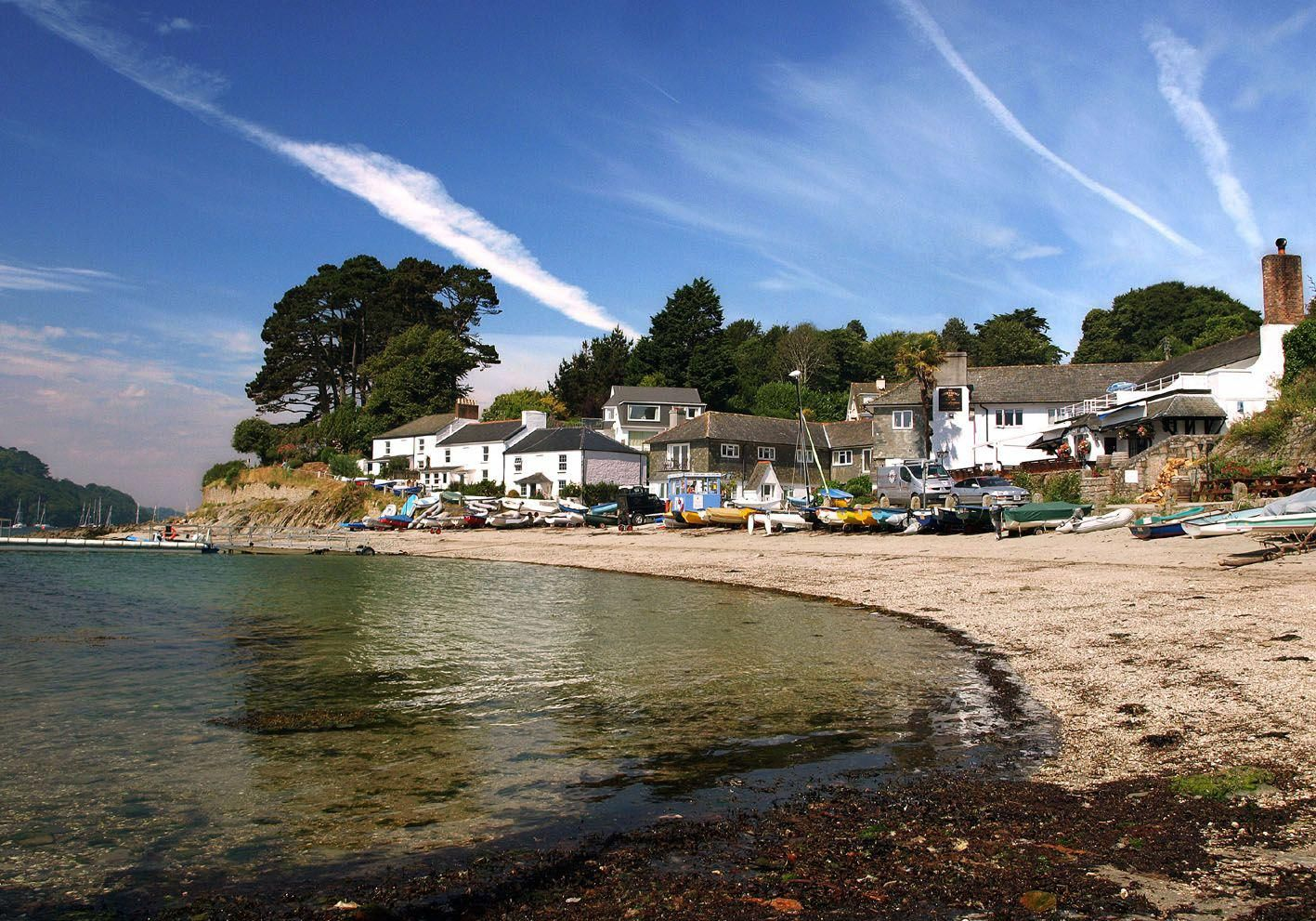 best towns in cornwall helford