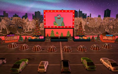 Christmas drive-in cinema is coming to London
