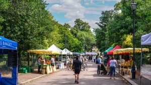 Street food markets staying open during Lockdown 2 in London